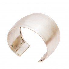 Stylish wide silver cuff