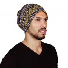 Stylish printed multipupose mens cap