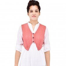 Pink waist coat short shrug