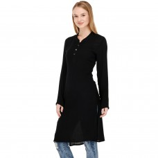 Black long kurta