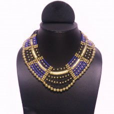 Golden Blue Necklace