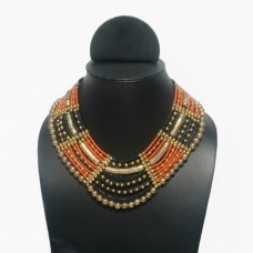 Golden Orange Necklace
