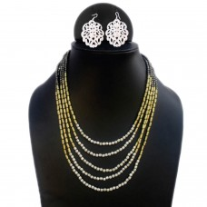 Multistrand Fine Beads Necklace