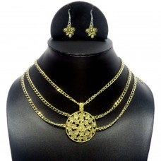 Statement Golden Chain Necklace
