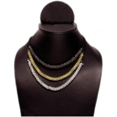 Multistrand Chain Necklace