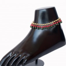 Stylish beads anklet