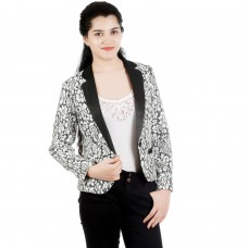Blended posh lace Blazer
