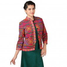 Mystical Folk embroidered jacket