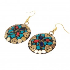 Trendy multicolor earrings