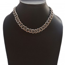 Unisex dual style stainless steel chain