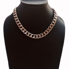 Unisex Figaro style stainless steel chain