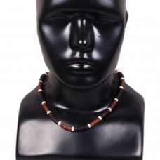 Wooden beads Unisex Necklace