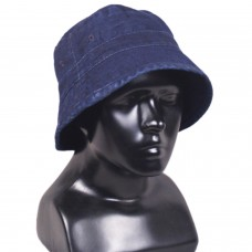 Denim Blue Bucket Sun Hat