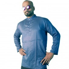 Holi Special Pursian Blue Rayon Kurta, with Sunglasses