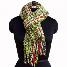 Stylish Multicolor acrylic wollen scarf