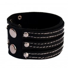 Stylish black wrist band