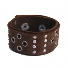 Stylish brown wrist band