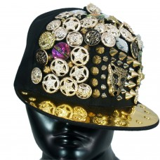Studded party cap