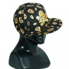 Trendy skull print party cap
