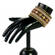 Black and Gold designers adjustable cuff