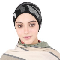 Multicolour Woollen  Headband Earwarmer Earmuff