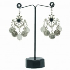 Traditional silver coin hangings