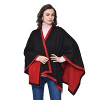 Black and Red reversible Cape