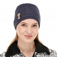 Dark Grey Winter Woolen Womens Headband Earwarmer Earmuff